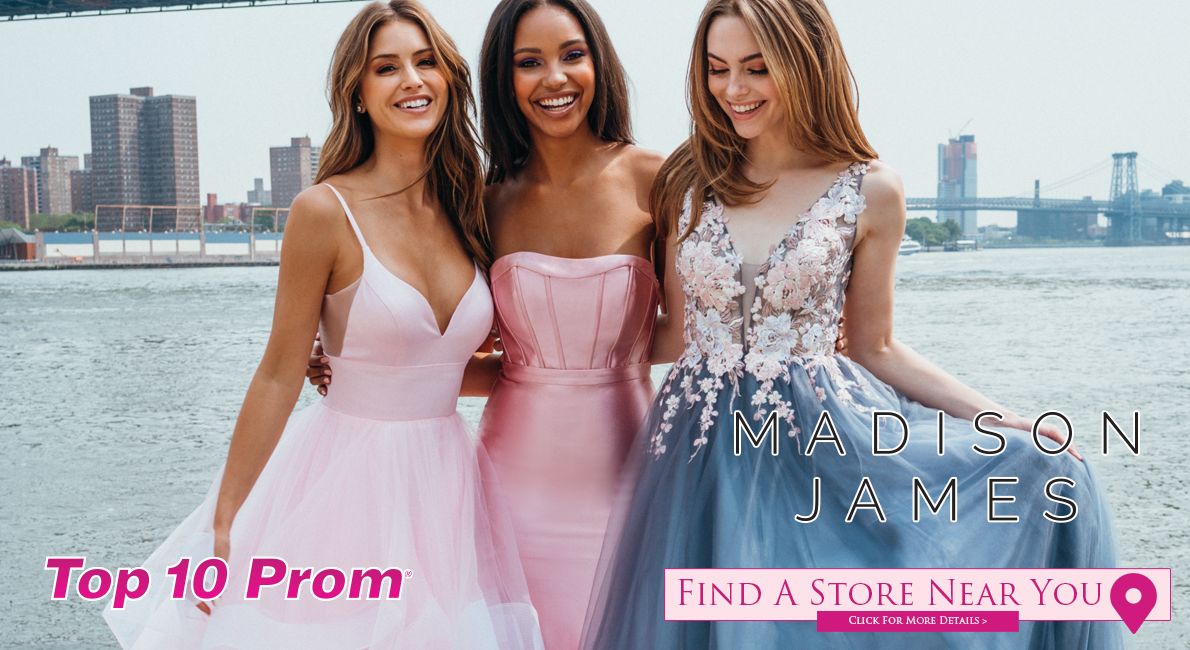 Madison James Prom Dresses at Top 10 Prom