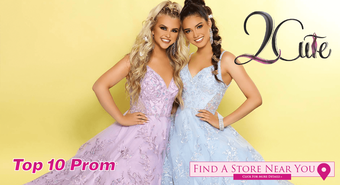2021 2 Cute Prom Dresses at Top 10 Prom