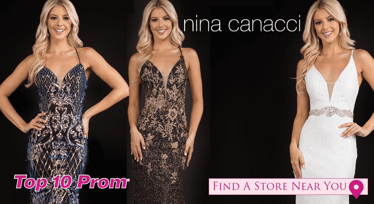 2021 Nina Canacci Prom Dresses at Top 10 Prom
