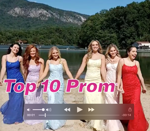 See The Exclusive Top 10 Prom Dresses